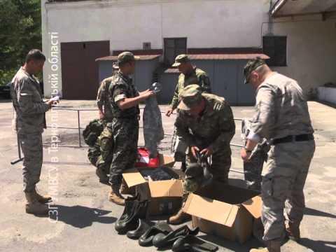 Бійці спецбатальйону «Тернопіль» отримали допомогу із США (ФОТО, ВІДЕО)