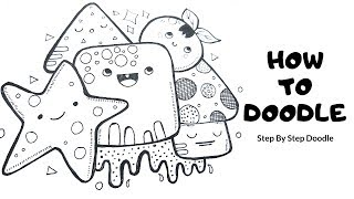 Doodle Art | How To Doodle | Draw Step By Step