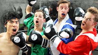 The Try Guys Try Boxing