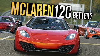 Forza Horizon 4 - NEW McLaren 12C vs 720S vs 570S