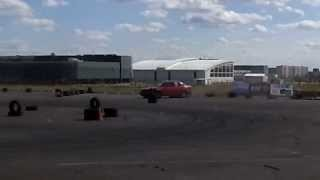preview picture of video 'Джимхана. Караганда. 1 этап 2013г. BMW 5 Series'