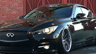 Motordyne Exhaust with Resonated Test Pipes (Infiniti Q50) - hmong video