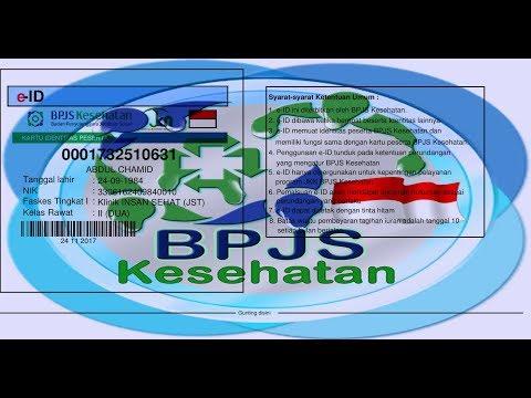 cara cetak sendiri ID CARD BPJS KES