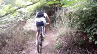 preview picture of video 'MTB Monte Artemisio Acqua Donzella Velletri'