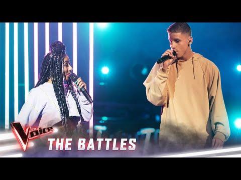 The Battles: Mich Paulsen v Elsa Clement 'Eastside' | The Voice Australia 2019