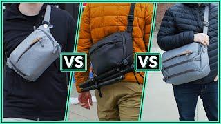 Peak Design Everyday Sling 3L, 6L & 10L V2 Quick Look Review & Comparison