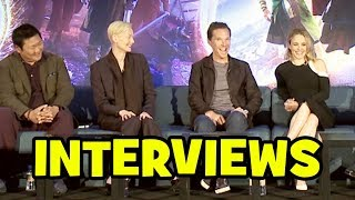 Бенедикт Камбербэтч, Doctor Strange FULL PRESS CONFERENCE