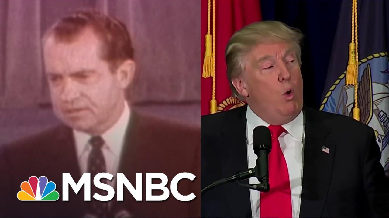 Donald Trump Resurrects Fearful Richard Nixon Themes | Rachel Maddow | MSNBC thumbnail