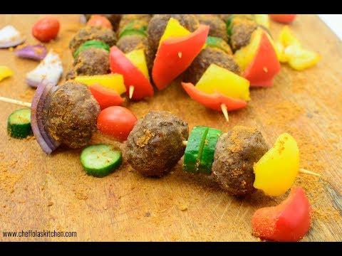 Ground Beef Kebab | Easy Kebab (Suya!!!)