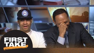 Allen Iverson tells Stephen A. Smith he trusts 'The Process' | First Take | ESPN