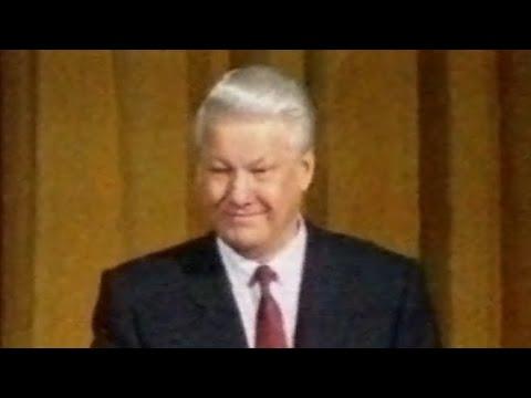 Выступление Б. Ельцина в парламенте Великобритании (1992)