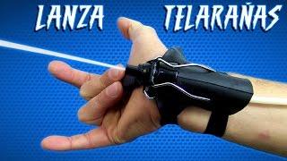 LANZA TELARAÑAS De SPIDERMAN - Increíble Invento Casero