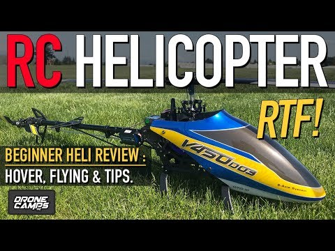 RC HELICOPTER for BEGINNER'S - Walkera V450 D03 - GUIDE, Flights, & Review