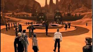 Star Trek Online Players Tribute to Leonard Nimoy - Spock - On Vulcan