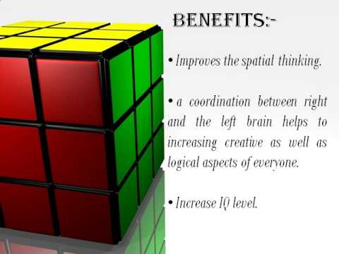 Video Benefits of Solving Rubik's Cube