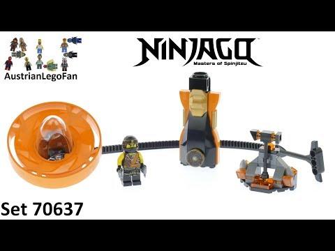 Vidéo LEGO Ninjago 70637 : Cole - Maître du Spinjitzu