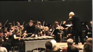 Vibraphone Concerto ending played by Ilya Dynov