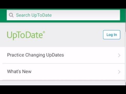 UpToDate free access online