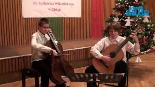 Cicha noc - Dariusz Gatza (wiolonczela), Jakub Szmigiel (gitara)
