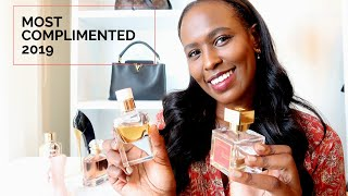 MY MOST COMPLIMENTED FRAGRANCES 2019 | Nelly Mwangi