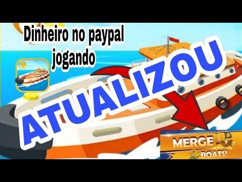 ATUALIZAÇÃO! Merge boat DUAS novidades para ganhar dinheiro no paypal jogando.