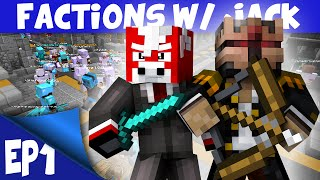Minecraft FACTIONS Server EP 1 WELCOME TO SKYCADE