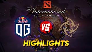 OG vs NIP - The International 2019 (Highlights)