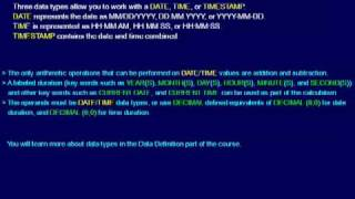 SQL 014 SELECT DATE, TIME and TIMESTAMP