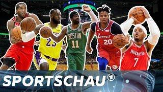 NBA-Vorschau: Wie stark sind die Raptors, Celtics, Rockets und Lakers? I Sportschau