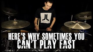 The Reason Why Sometimes You Can't Play Fast And How To Fix It - James Payne