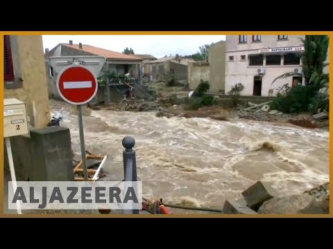 🇫🇷 Deadly flash floods hit southern France l Al Jazeera English