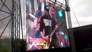 "Acid Drinkers i Litza - Poplin Twist & Metallica - ""Seek And Destroy"" (3-majówka Wrocław 2016)"