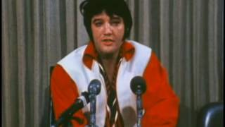 Elvis Houston Astrodome 1970 - Press Conference