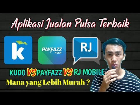 Aplikasi jualan pulsa terbaik Kudo, Payfazz dan RJ Mobile Topup - Mana yang lebih murah?