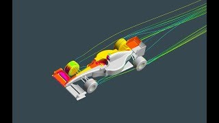 Tutorial   Formula One F1 CFD Simulation with ANSYS CFX