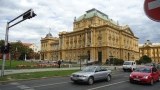 preview picture of video 'Driving Around Zagreb, Croatia'