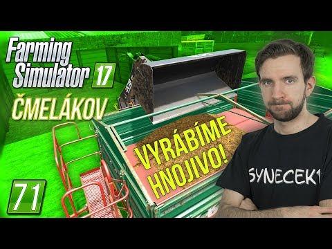 VYRÁBÍME HNOJIVO! | Farming Simulator 17 #71