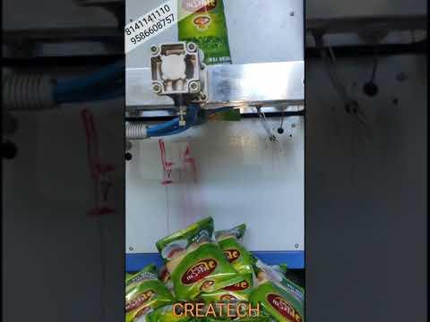 4 Head Pouch Packing Machine