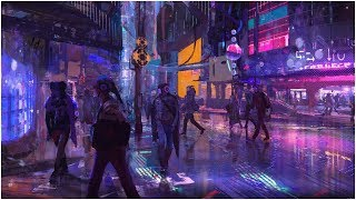 Ghost In The Shell - Cyberpunk City