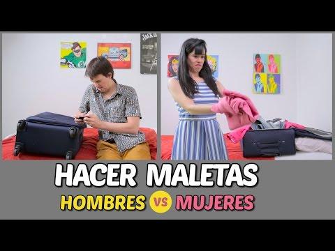 ¡Hacer maletas! Hombres vs Mujeres