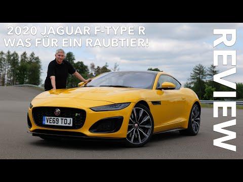 2020 Jaguar F-Type R Fahrbericht Test Review Probefahrt Sound Innenraum Kofferraum Fakten | Deutsch