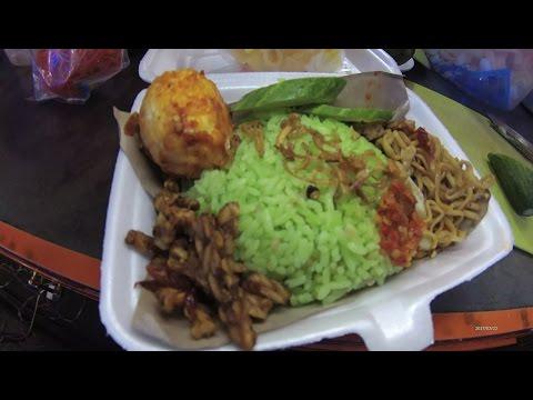 Greater Jakarta Street Food 1294 Part.1 Lampung Green Uduk Rice Nasi Uduk Ijo 5990