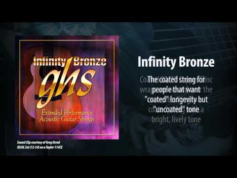 GHS Strings - Infinity Bronze Acoustic Strings
