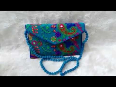 Elegant Designer Sling Banjara Bag