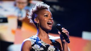 "Anika Noni Rose sings ""Go The Distance"" at D23 Expo Disney Legends Awards"