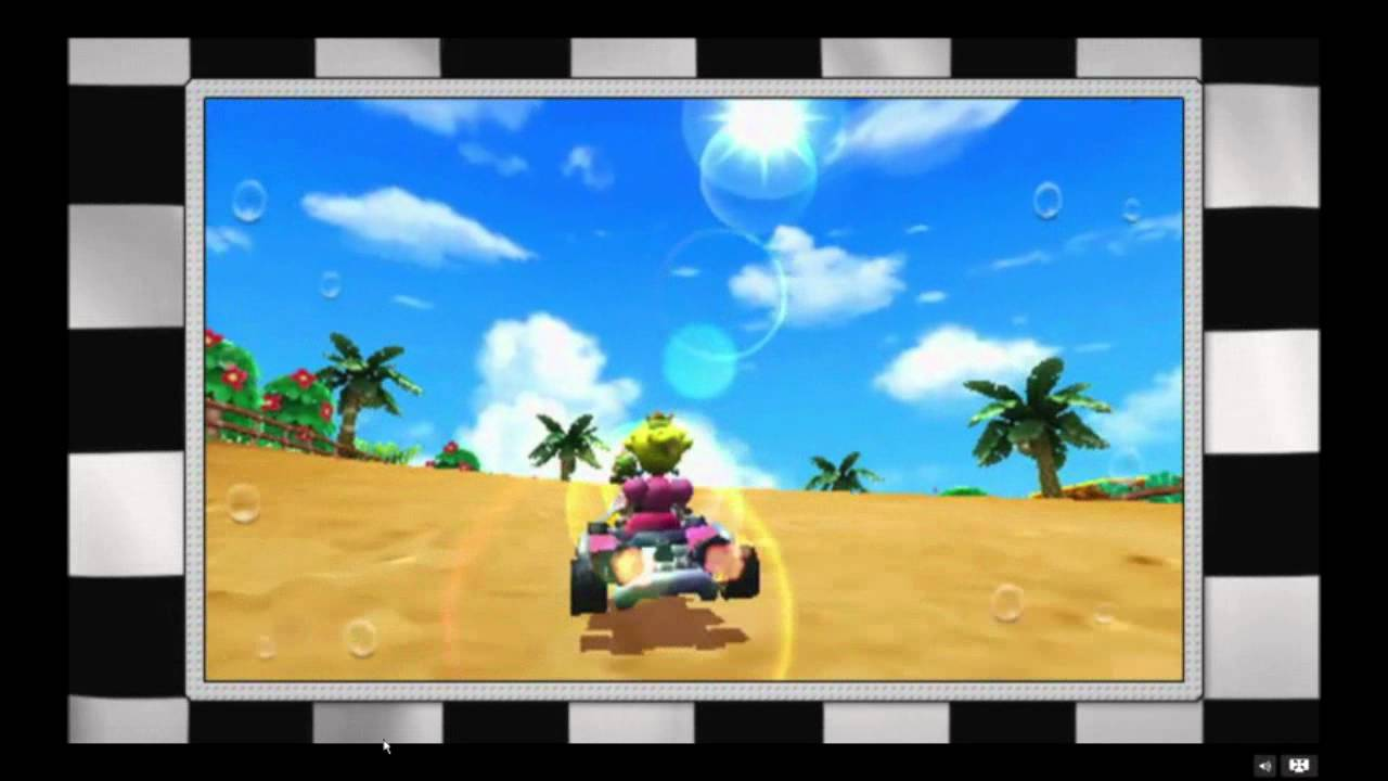 Mario Kart 3DS Travels By Land, Sea And Air