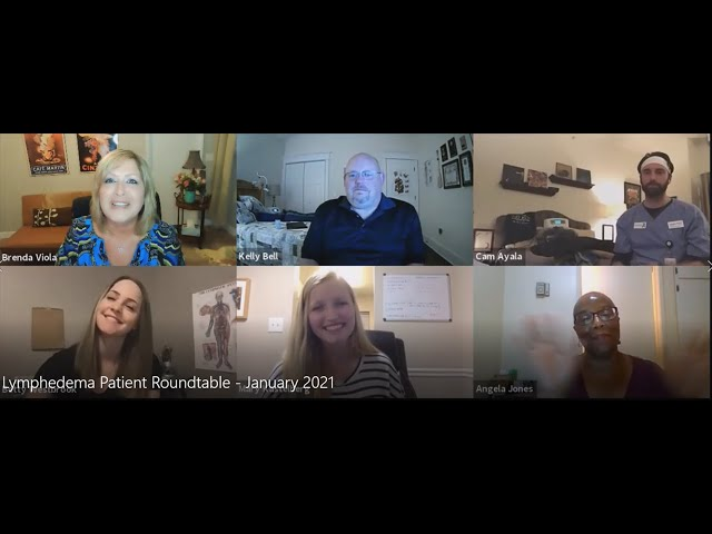 Lymphedema Patient Roundtable – January 2021