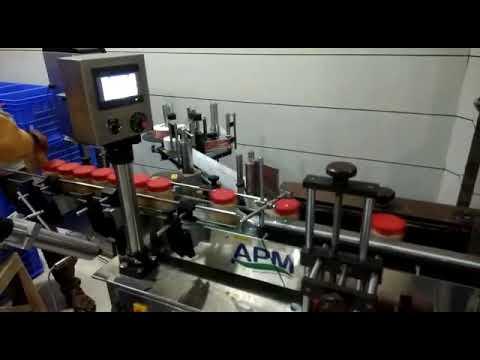 Automatic Pesticide Bottle Sticker Labeling Machine