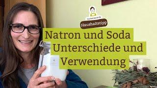 Was ist der Unterschied zwischen Natron, Backpulver und Soda?