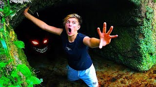 I Spent the Night in an Abandoned Tunnel & Couldn't Escape... (24 Hour Challenge)